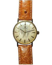 Omega Reloj en oro amarillo dorado - Multicolor