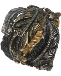 Roberto Cavalli - Metallic Metal Bracelet - Lyst