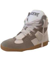 Loewe High Trainers - Grey