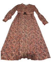 Chanel Red Silk Dress - Multicolour