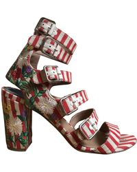 Laurence Dacade Multicolour Cloth Sandals