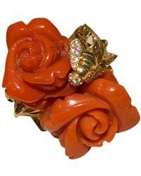 Dior Pré Catelan Gelbgold Ringe - Rot