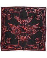Givenchy Seide schals - Rot