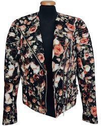 Givenchy Wool Biker Jacket - Multicolor