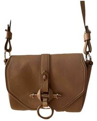 Givenchy Obsedia Leather Crossbody Bag - Natural