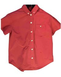 Louis Vuitton Red Cotton Top