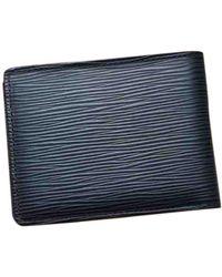 Louis Vuitton Leather Small Bag - Black