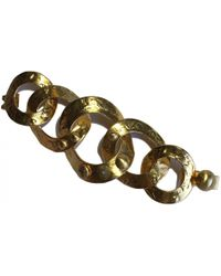 Louis Vuitton - Pre-owned Gold Metal Bracelet - Lyst