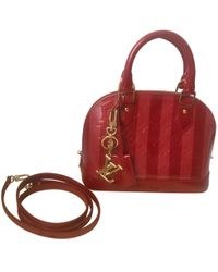 Louis Vuitton - Pre-owned Alma Bb Patent Leather Crossbody Bag - Lyst