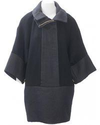 Loewe - Pre-owned Wool Coat - Lyst