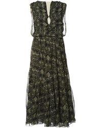 Vanessa Bruno - Silk Maxi Dress - Lyst