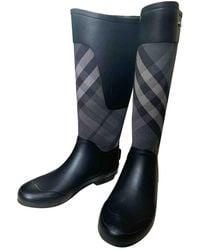 Burberry Stivali da pioggia - Blu