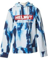 Helmut Lang Blue Cotton Knitwear