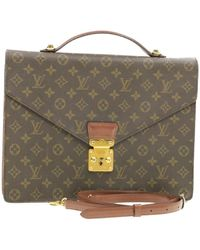 Louis Vuitton Cloth Handbag - Brown