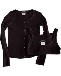 Chanel Cashmere Twin-set - Brown