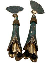Marni Pendientes en metal turquesa - Multicolor