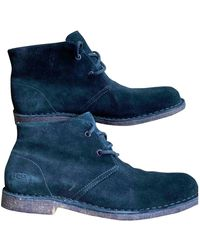 UGG Leather Boots - Black