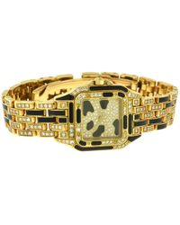 Cartier | Pre-owned Panthère Petit Modèle Yellow Gold Watch | Lyst