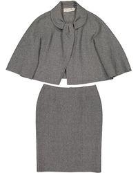 Dior - Wool Skirt - Lyst
