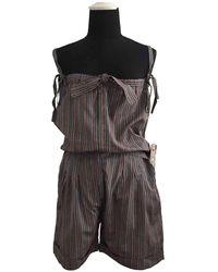 Jil Sander Silk Jumpsuit - Multicolor