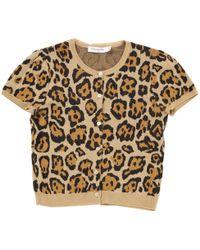 Dior - Beige Wool Knitwear - Lyst