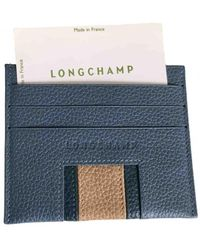Longchamp Leather Small Bag - Blue