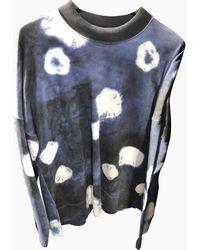 Acne Studios Pullover&Sweatshirt Baumwolle Blau