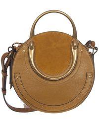 Chloé Pixie Brown Leather Handbag