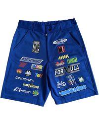 Moschino Shorts Polyester Blau