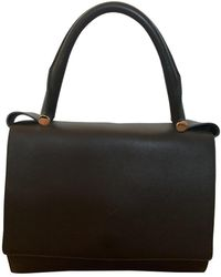 Max Mara Leather Handbag - Green