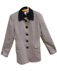 Dior Vest en Polyester Marron - Multicolore