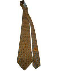 Hermès - Cravate en soie - Lyst