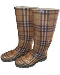 Burberry Wellington Boots - Multicolor