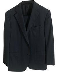 Lanvin Wolle Anzüge - Blau