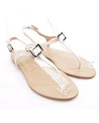 Roger Vivier Leather Sandals - White