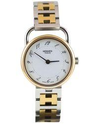 Hermès Reloj en metal multicolor Arceau - Metálico