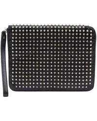 Christian Louboutin Patent Leather Bag - Black
