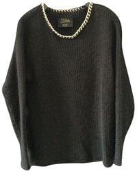 Jean Paul Gaultier Wolle Pullover - Schwarz