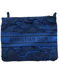 Dior Cloth Small Bag - Blue