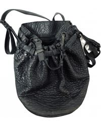 Alexander Wang Diego Leather Handbag - Black