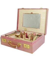 Cartier Vintage Pink Leather Bag