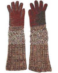 Missoni Multicolour Wool Gloves