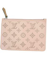 Louis Vuitton Pochette Mahina de Cuero - Rosa