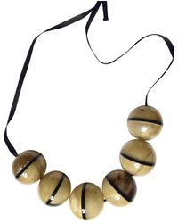 Marni Horn Necklace - Natural