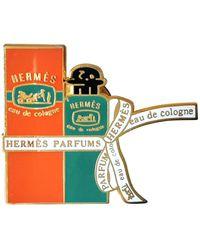 Hermès Broschen - Orange