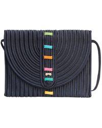 Nina Ricci Black Cotton Handbag