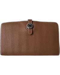 Hermès Dogon Leather Wallet - Multicolour