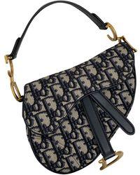 Dior Saddle Leinen Handtaschen - Mehrfarbig