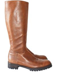 Jil Sander Other Leather Boots - Brown
