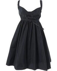 Hussein Chalayan Black Polyester Dress